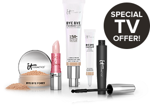 Bye Bye Foundation Special TV Offer - 5 piece IT makeup kit.
